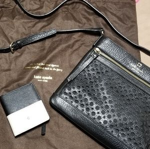 Kate spade cross body and small wallet combo